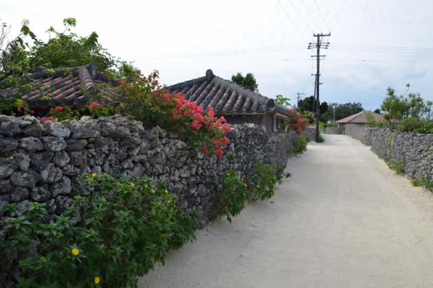 竹富島の集落