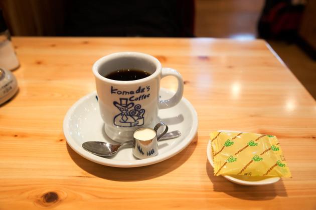 ブレンドコーヒーとおつまみ