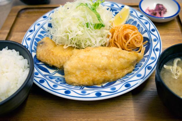 白身魚の定食