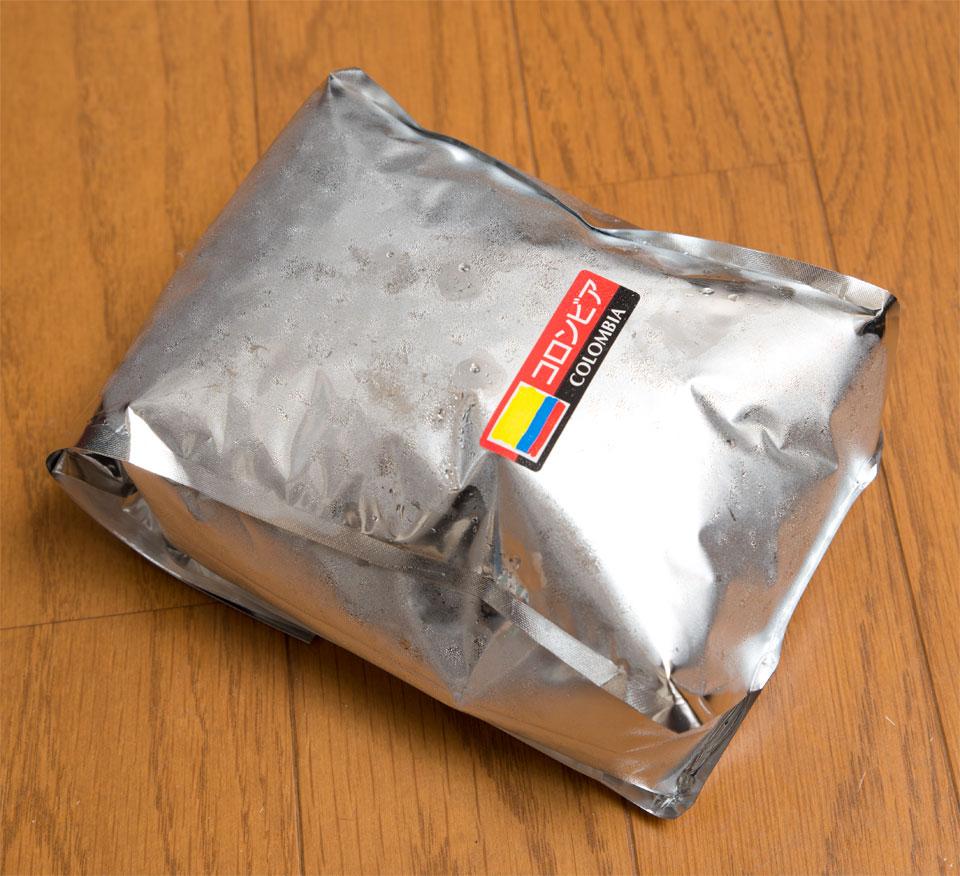 コーヒー豆の解凍