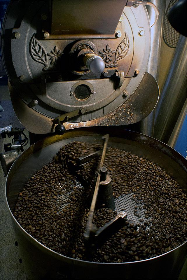 富士ローヤル製焙煎機