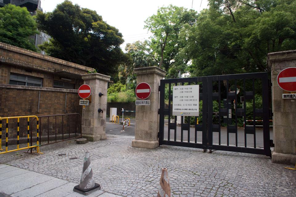 東京大学池之端門