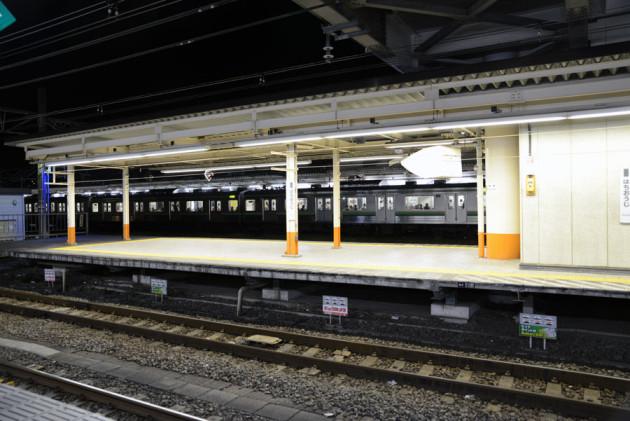 八王子駅にて