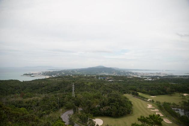 沖縄本島にて