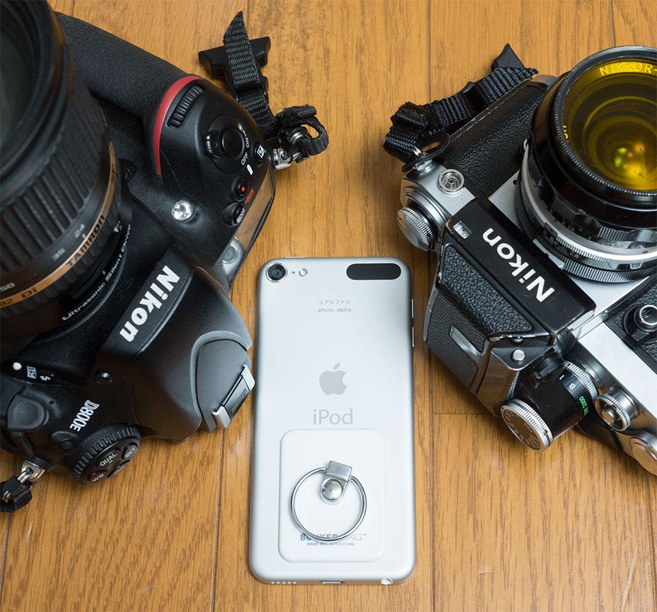 iPod touchのカメラはよく写る