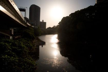 千代田区にて