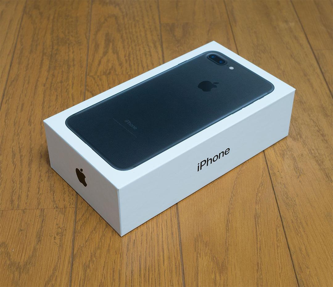 iPhone7 Plus 到着