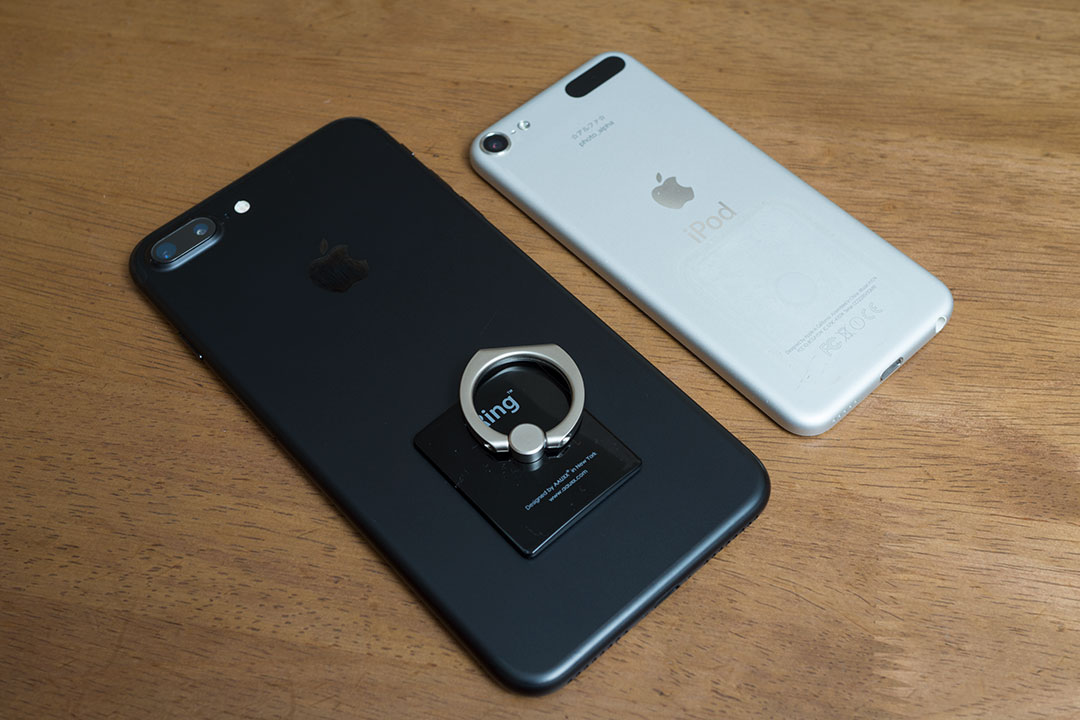 iPhone7 PlusとiPod touch