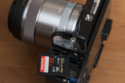 NEX-7とSDカード