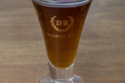 電気ブランのグラス