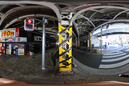 神田駅にて