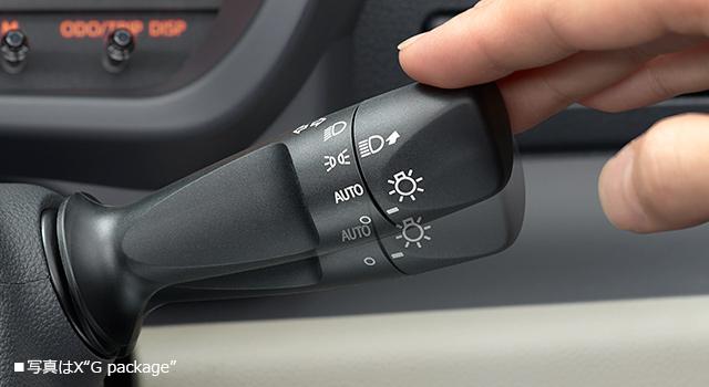 ワンタッチターンシグナル機能付方向指示スイッチ