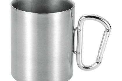 ステンレスのマグカップ