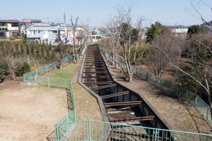 石神井川にて