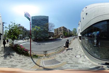 南青山にて