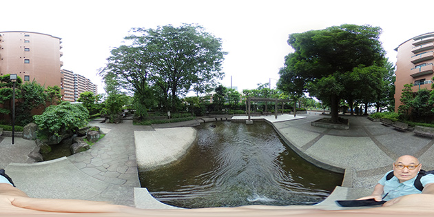 武蔵野市にて