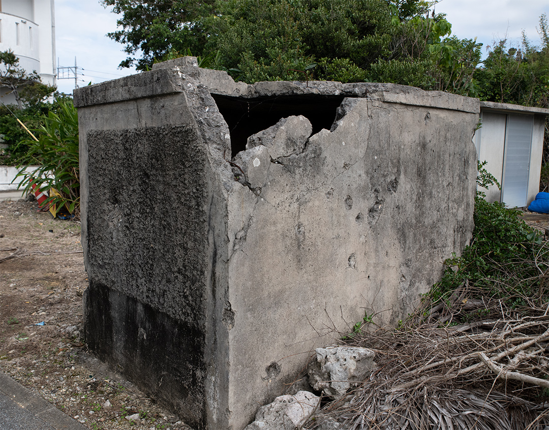 名城の貯水槽