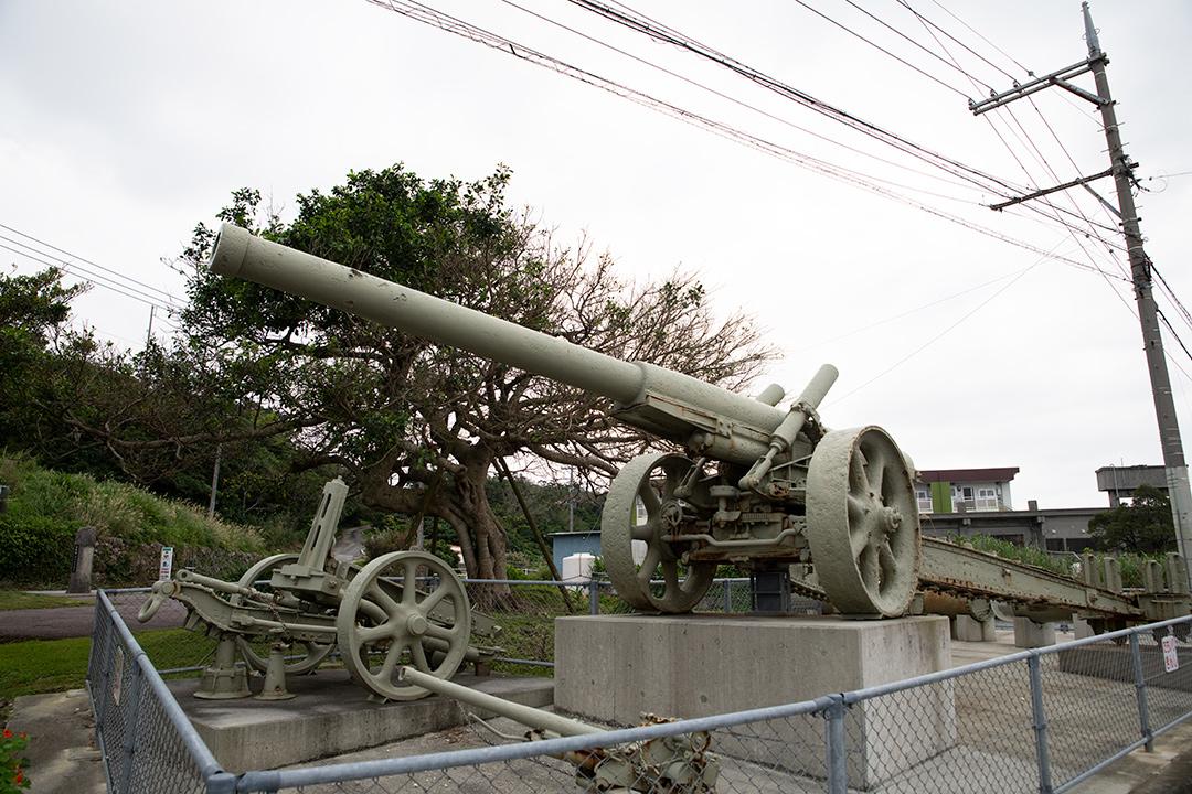 八十九式十五糎加農(カノン)砲