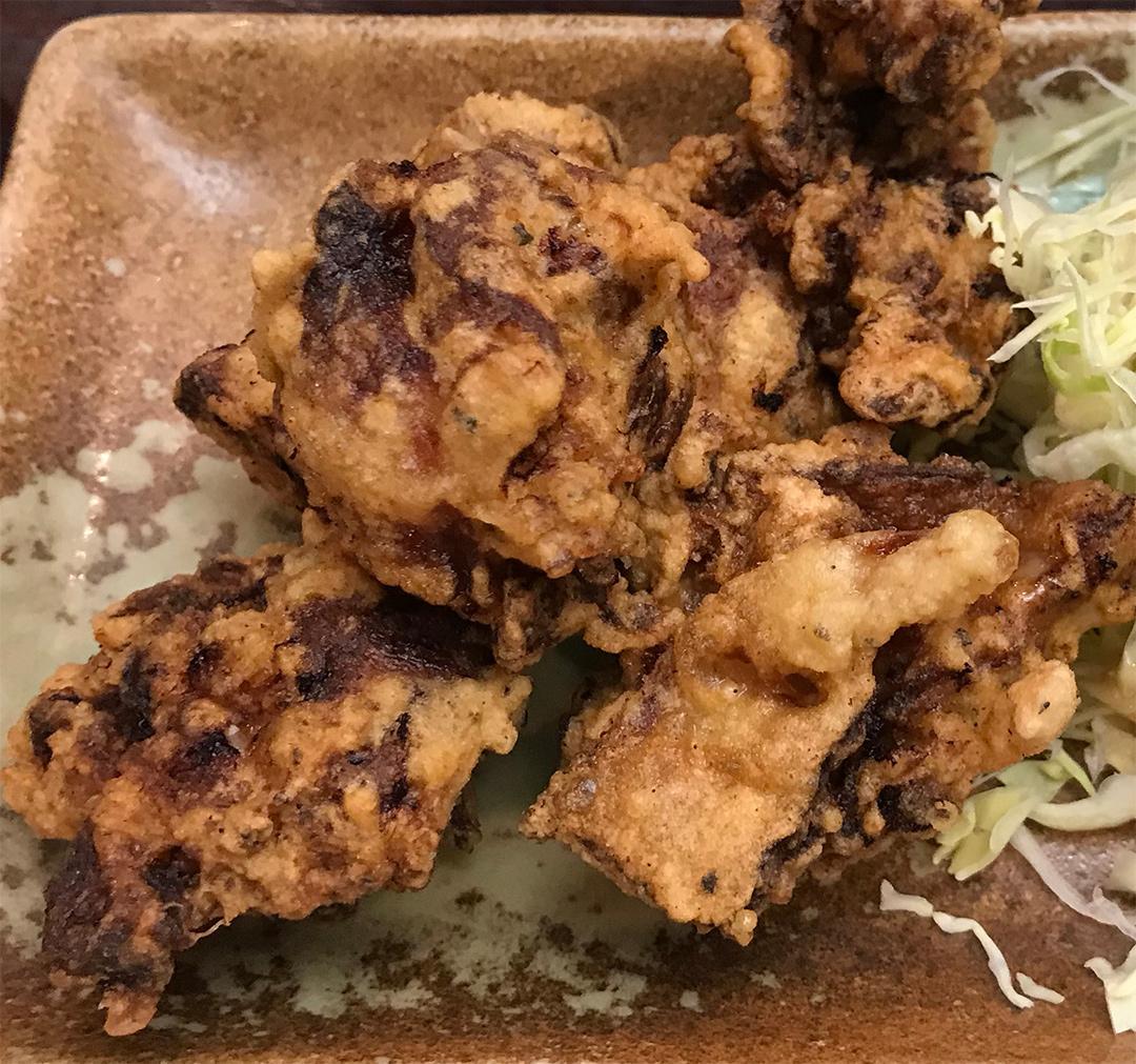 沖縄産若鶏の唐揚げ