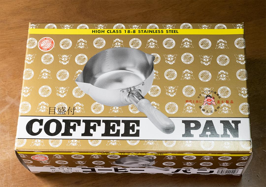 目盛付きのコーヒーパン