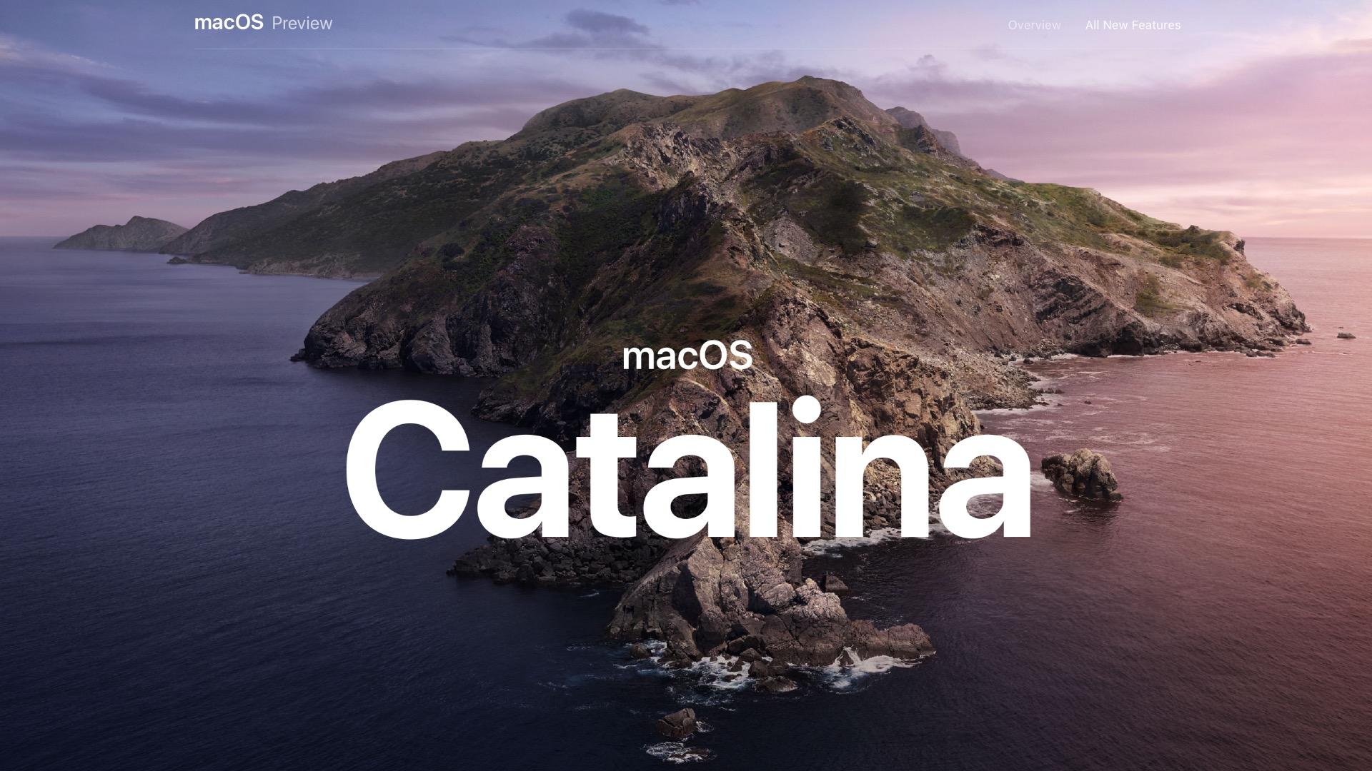 macOS v10.15 Catalina