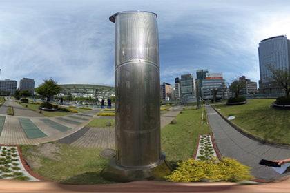 名古屋市にて