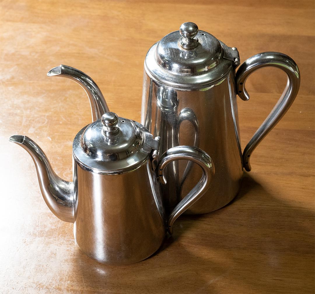 ユキワ 18-8 M型 コーヒーポット 5人用・3人用