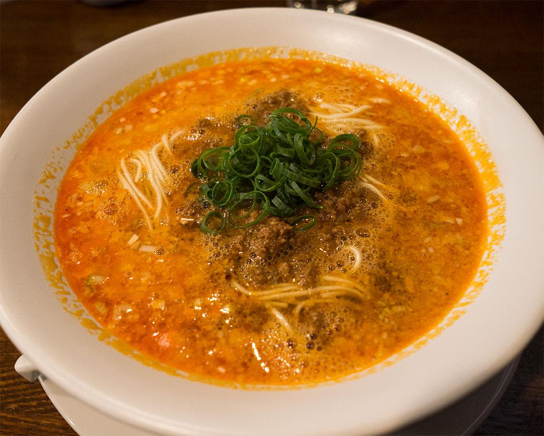 創作麺工房 鳴龍・担々麺