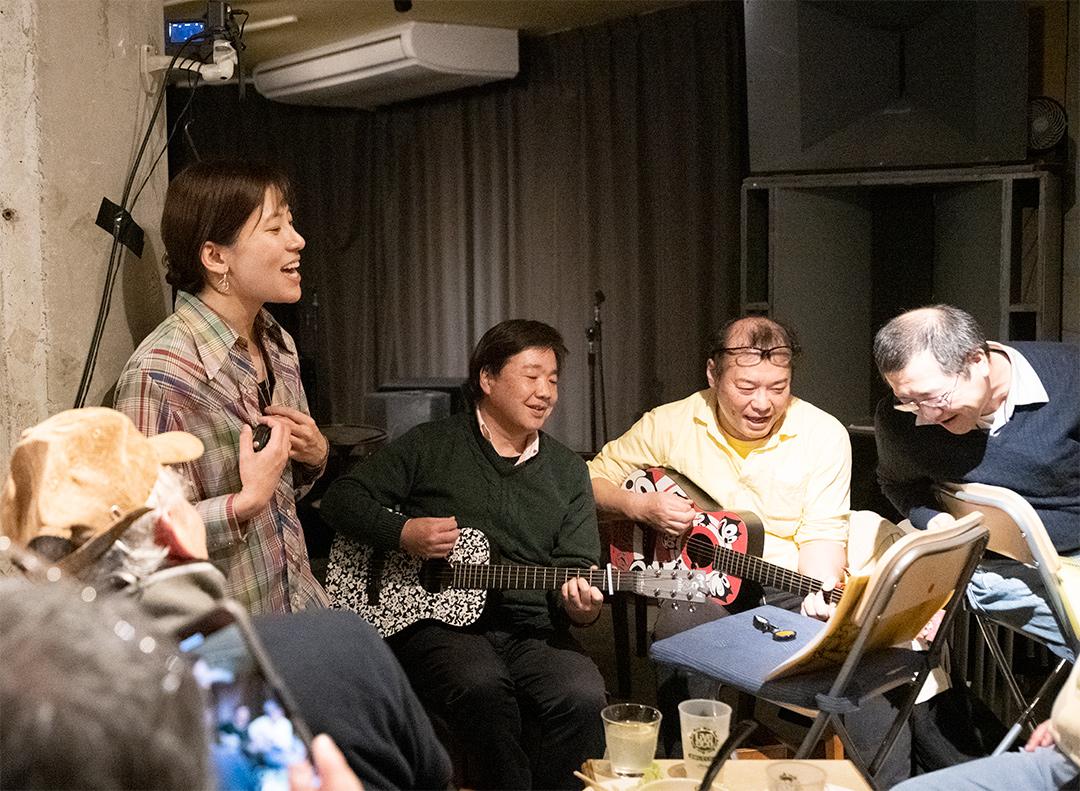 萩ちゃんバンドといわさきさん