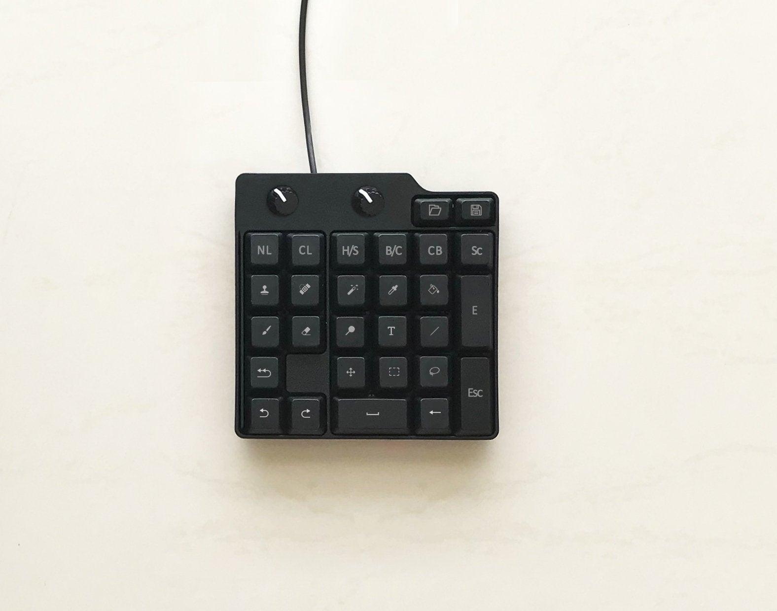 Keypad Keyboard DIY for Photoshop