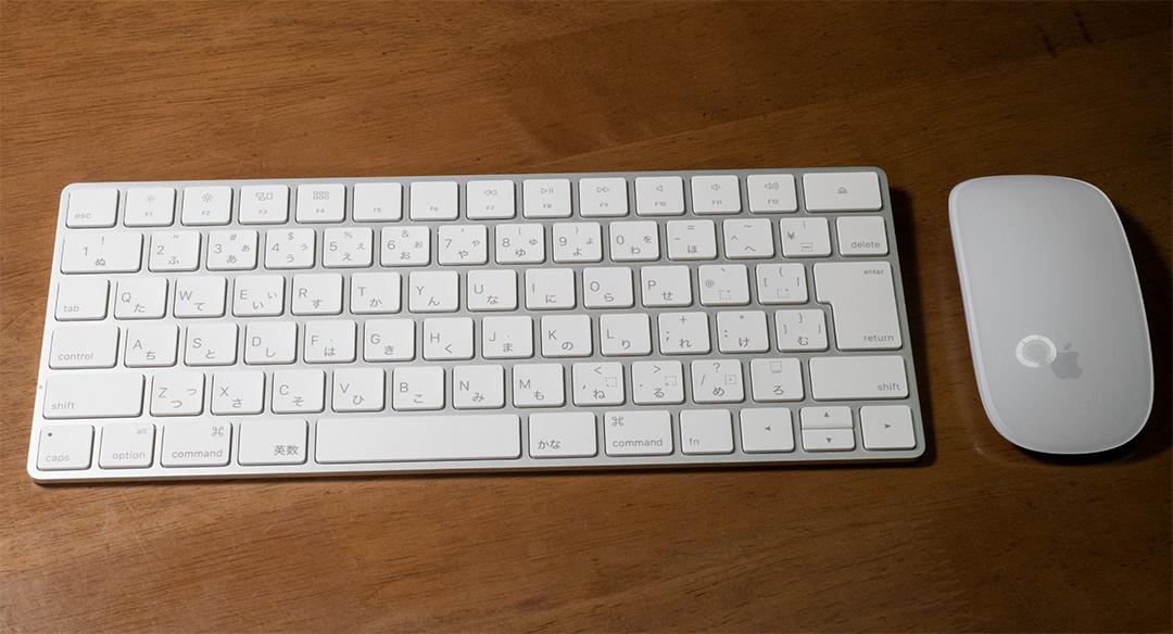 Magic KeyboardとMagic Mouse 2