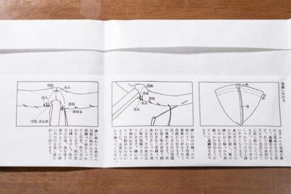 縫い方の図解