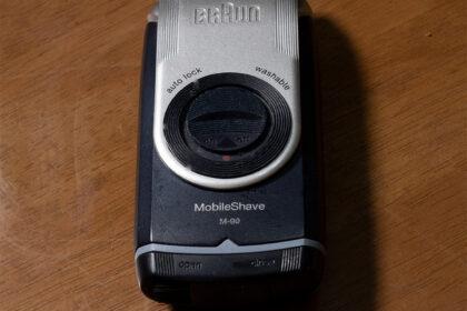 ブラウン モバイルシェーバー M-90