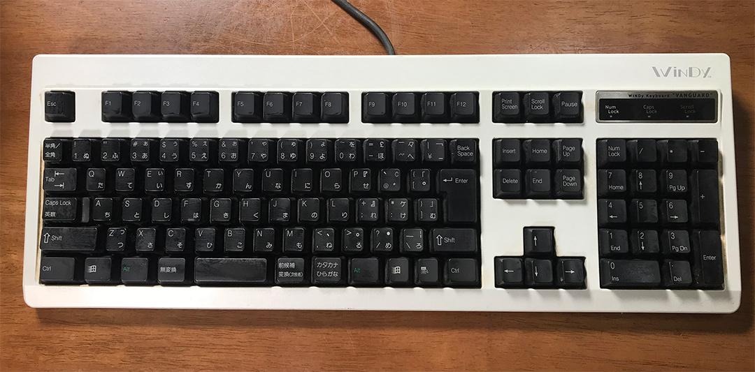 WiNDy VANGUARD Keyboard Model:V101