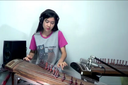 Led Zeppelin-Stairway to heaven Guitar solo Gayageum cover