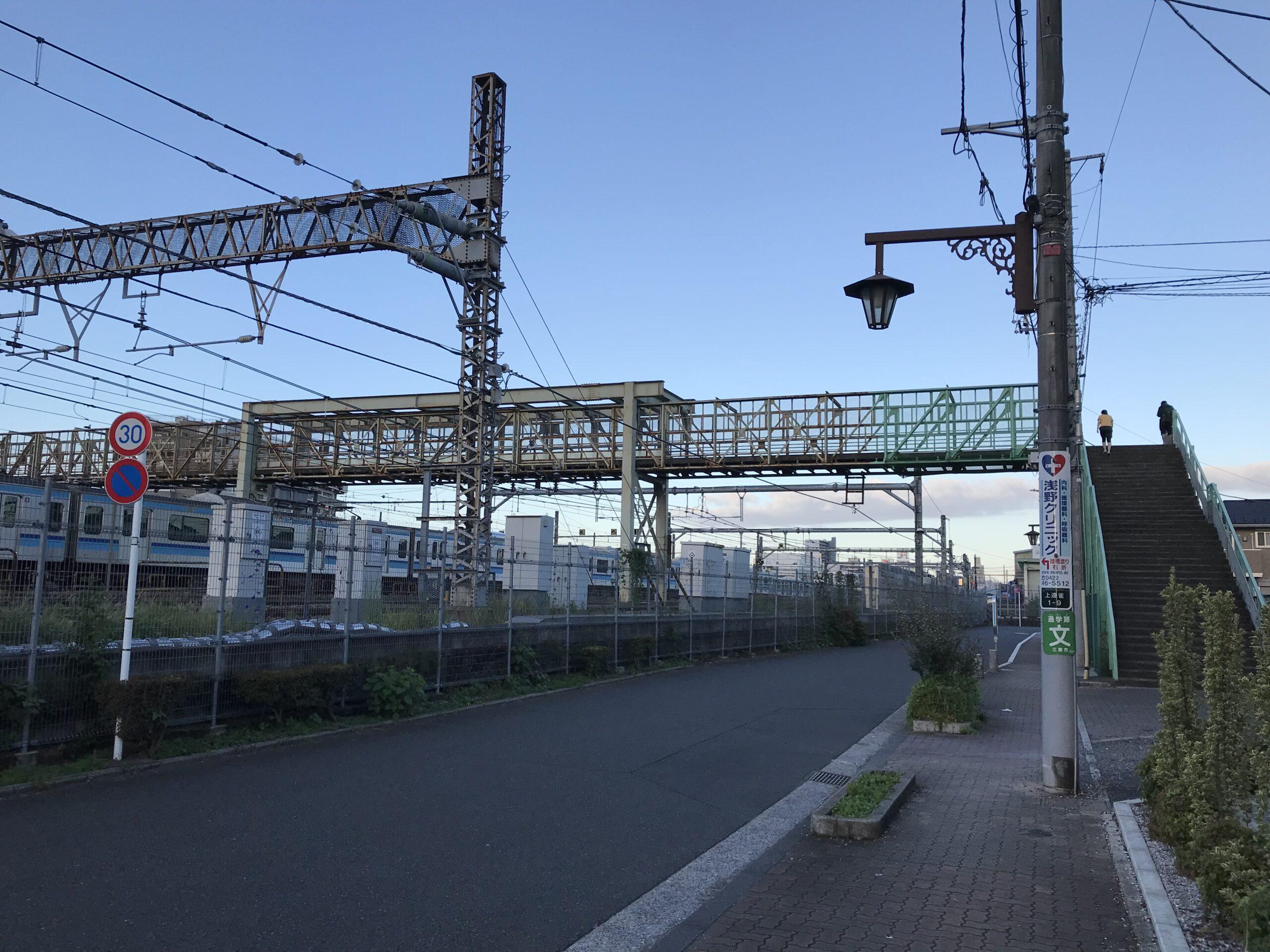 三鷹跨線人道橋