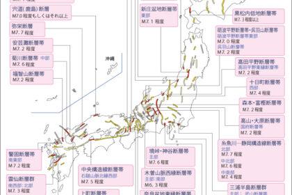 日本の活断層